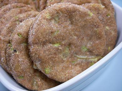 Zucchini Bread Biscuits DoggyDessertChef.com