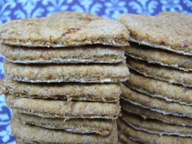 Honey Mint Chicken Dog Biscuit DoggyDessertChef.com
