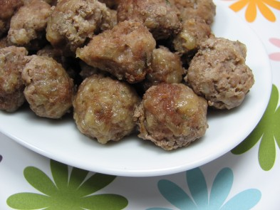 Parmesan mini-Meatballs