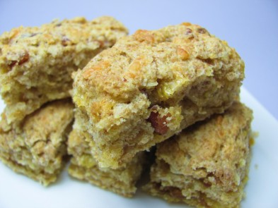 Bacon and Cheese Scones Dog Treat/Biscuit Recipe