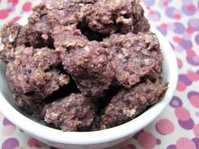 Mixed Berry Oatmeal Dog Treat/Biscuit Recipe