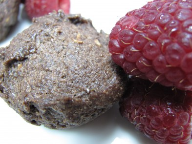 Raspberry Brownie Bites Dog Treat/Biscuit Recipe