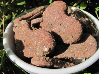 blackberry apple liver dog treat/biscuit recipe