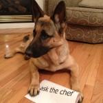 {ask the chef} pretty treats
