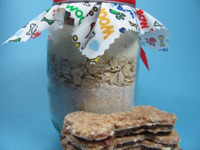 Bacon Bites {gift jar recipe} Dog Treat/Biscuit Recipe