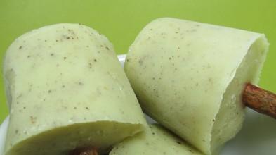 yogurt kiwi popsicles