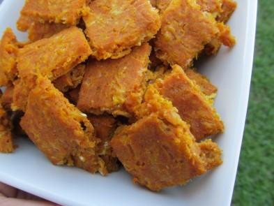 (gluten-free) cheddar pumpkin