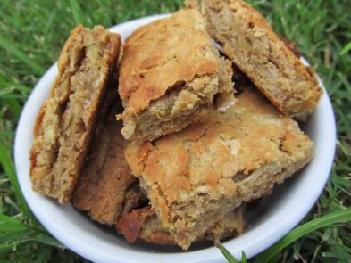 (Gluten-Free) Peanut Butter Apple Biscotti Bites Dog Treat/Biscuit Recipe