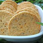 (gluten-free) rosemary cheddar
