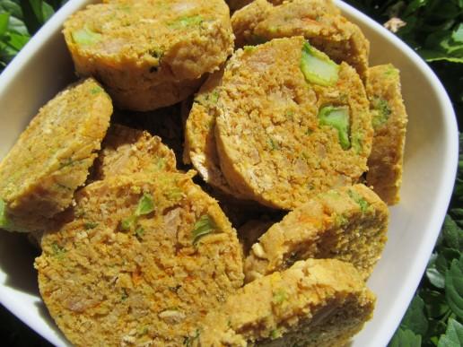 broccoli carrot chicken dog treat/biscuit recipe