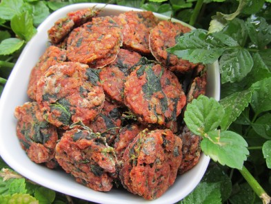 (grain and gluten-free) tomato spinach