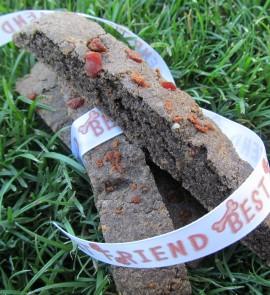 (grain and gluten-free) cheeseburger biscotti dog treat recipe