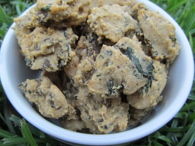 (wheat and gluten-free) spinach liver parmesan