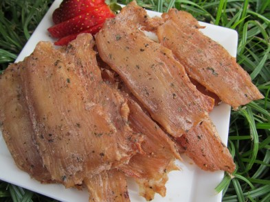 strawberry lemon chicken jerky dog treat recipe
