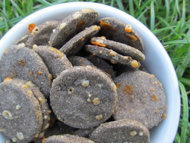 (wheat, grain and gluten-free) rosemary cheddar dog treat/biscuit recipe