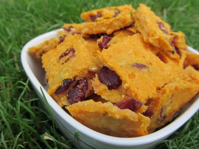 (gluten-free) sweet potato cranberry