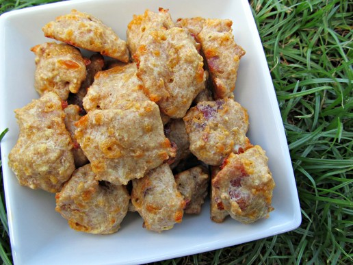 Bacon egg and cheese bites wheat free bacon eggs and cheese bites dog treat recipewheat forumfinder Images