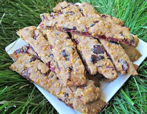 cranberry cheddar dog treat/biscuit recipe