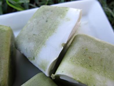 (dairy, gluten, grain and wheat-free, vegan, vegetarian) frozen cherry coconut kale dog treat recipe