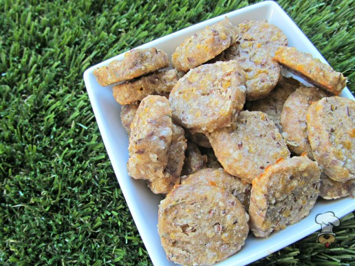 (wheat-free) flax & cheese dog treat/biscuit recipe