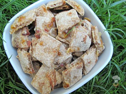 (wheat-free) apple bacon swiss dog treat/biscuit recipe