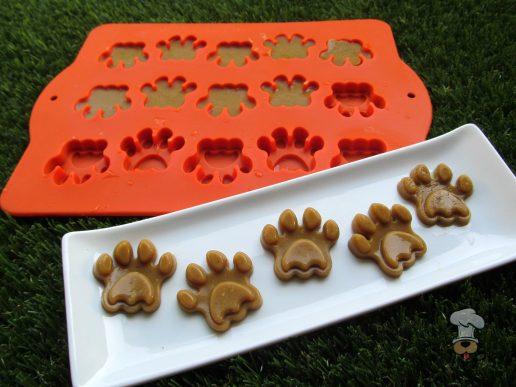 (wheat, grain, gluten and dairy-free) pumpkin turkey gummies dog treat recipe