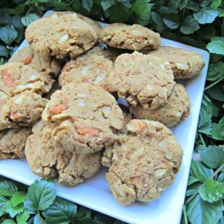 (wheat, gluten and dairy-free, vegan, vegetarian) apple carrot molasses dog treat/biscuit recipe