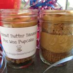 peanut butter banana pee wee pupcakes