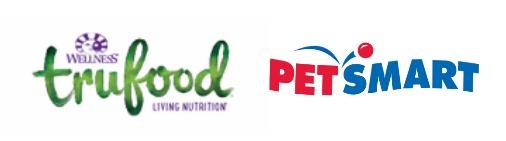 true food and petsmart logos