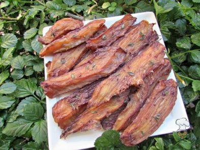 (wheat, gluten, grain and dairy-free) blackberry ginger chicken jerky dog treat recipe