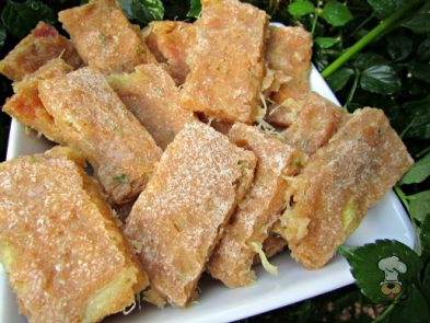 (wheat and dairy-free) ginger, pork & pineapple dog treat/biscuit recipe