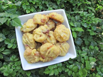 (wheat and gluten-free) pineapple bacon chicken dog treat/biscuit recipe
