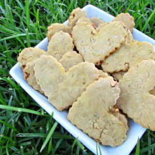 (dairy, gluten and wheat-free) mango peanut butter dog treat/biscuit recipe