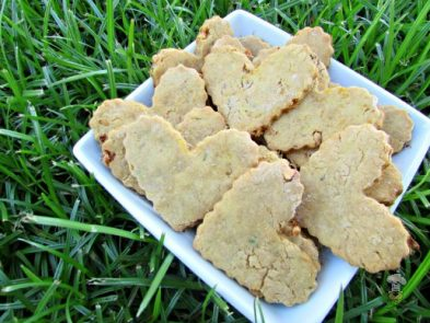 (dairy, gluten and wheat-free) mango peanut butter dog treat/biscuit recipe