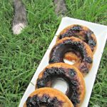 blueberry basil donuts dog treat recipe