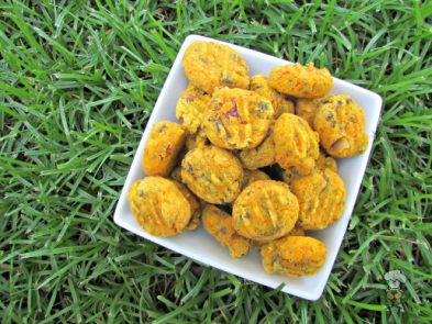 (wheat and gluten-free) bacon liver squash dog treat/biscuit recipe