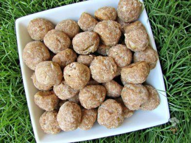 (wheat-free) parmesan honey pear dog treat recipe