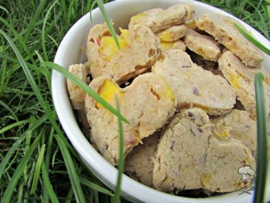 (wheat, gluten and dairy-free) mango lavender dog treat/biscuit recipe