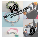 {Day 9 Giveaway} Custom Beaded Bracelet