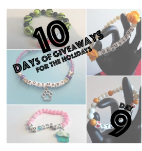 {Day 9 Giveaway} Custom Beaded Bracelet