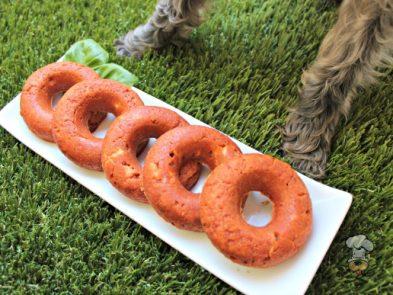 tomato basil chicken donuts