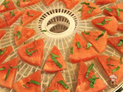 (wheat, gluten, grain and dairy-free, vegan, vegetarian) basil watermelon chews dog treat recipe