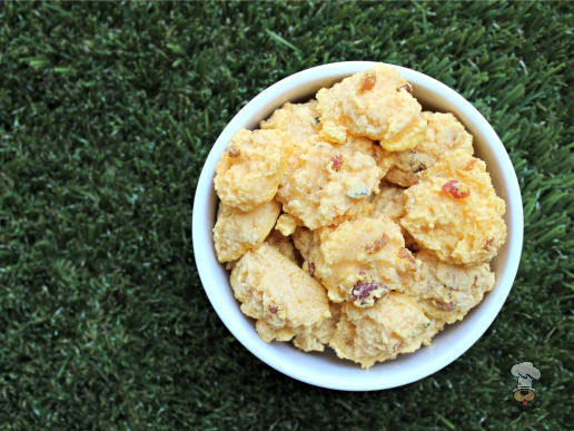 (gluten, wheat and dairy-free) bacon cantaloupe dog treat/biscuit recipe
