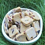 (gluten and wheat-free) cranberry ginger dog treat/biscuit recipe