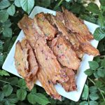 (wheat, grain, gluten and dairy-free) watermelon blackberry jerky dog treat recipe