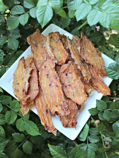(wheat, grain, gluten and dairy-free) watermelon blackberry jerky dog treat recipe