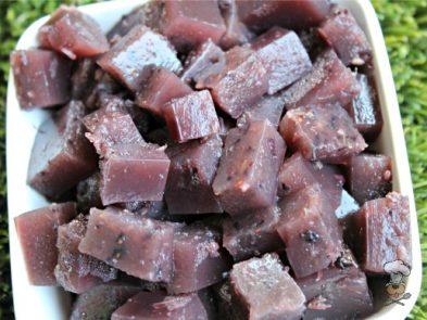 (wheat, gluten, grain and dairy-free) blueberry lavender gummies dog treat recipe