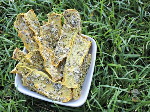 (grain, gluten and wheat-free) parmesan squash chews dog treat recipe