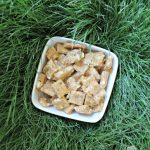 (wheat-free) zucchini goat cheese dog treat/biscuit recipe