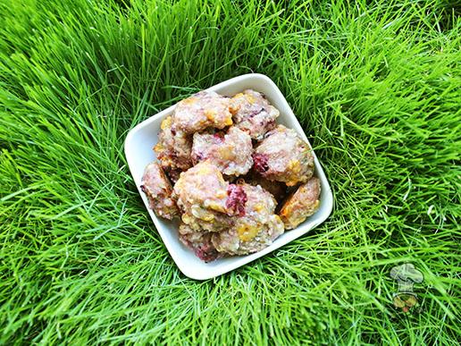 (wheat-free) blackberry cheese dog treat recipe